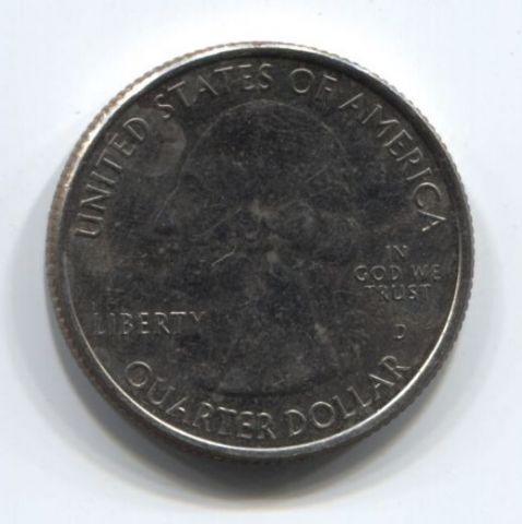 1/4 доллара 2015 года США Сарагота - национальный исторический парк
