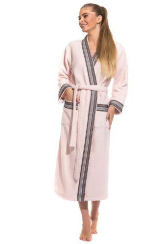 Женский махровый халат из микро-коттона Elegance