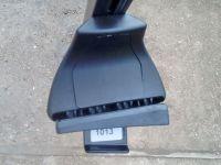 Багажник на крышу Daewoo Matiz, Евродеталь, стальные прямоугольные дуги