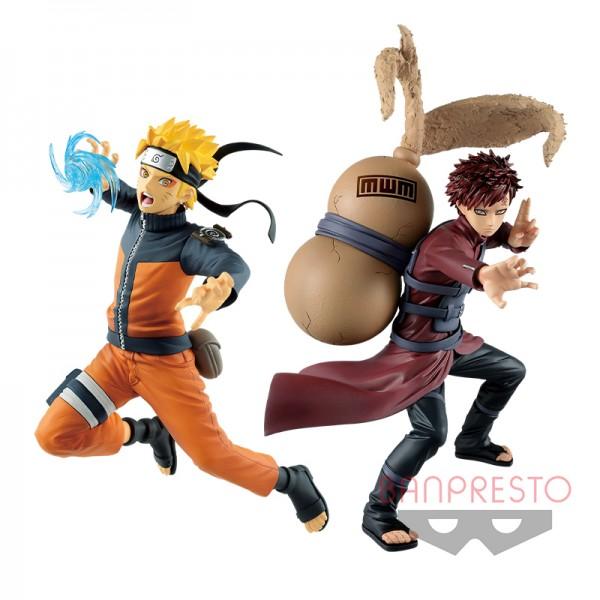 Аниме фигурки Naruto Shippuden - Gaara & Uzumaki Naruto