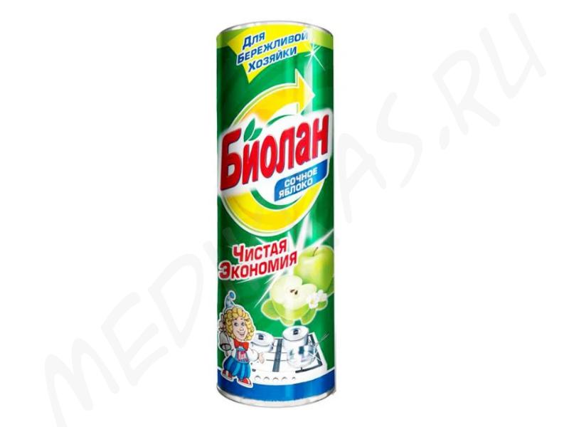 """Чистящий порошок """"Биолан"""" Сочное яблоко 400 гр"""