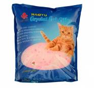 Haoyu Crystal Cat Впитывающий силикагелевый наполнитель (Цветочный) 1,8 кг