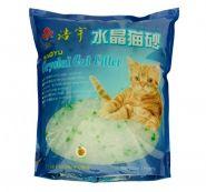 Haoyu Crystal Cat Впитывающий силикагелевый наполнитель (Яблоко) 1,8 кг