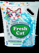 Fresh Cat ® «Морской бриз» Наполнитель силикагелевый, 5л