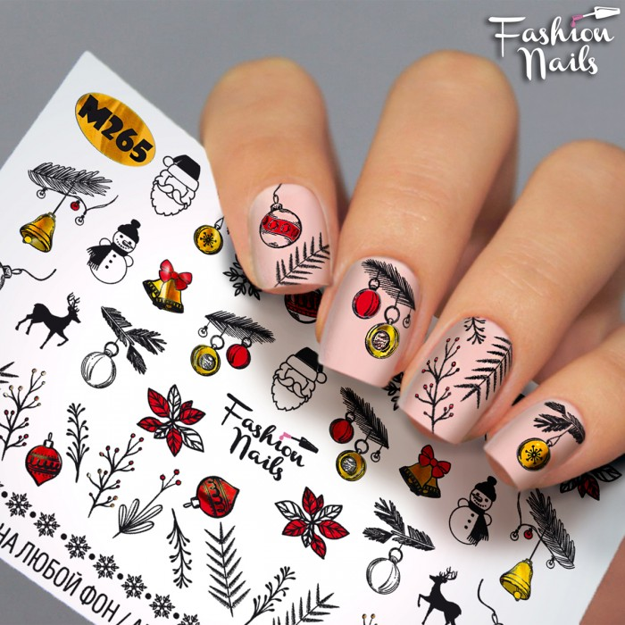 Слайдер дизайн Fashion Nails #M265