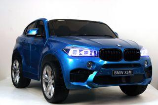 Детский электромобиль River Toys BMW-X6-M-JJ2168 глянцевый
