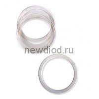Кольцо протекторное(прозрачное), диаметр 60 (в пачке 100 шт) Н (в коробке 1000)