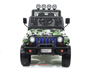 Детский электромобиль River Toys Jeep T008TT камуфляж