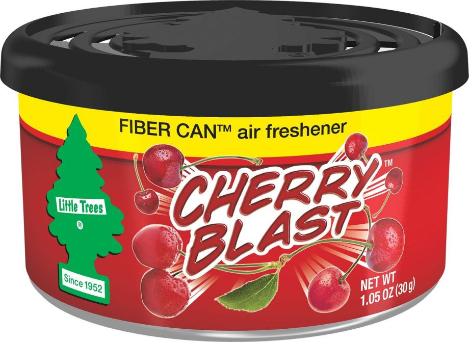 "Car-Freshner Ароматизатор в баночке Fiber Can ""Вишня"" (Cherry Blast)"