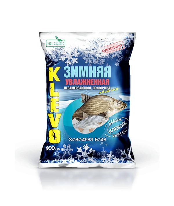 Прикормка KLEVO Увлажненная зимняя