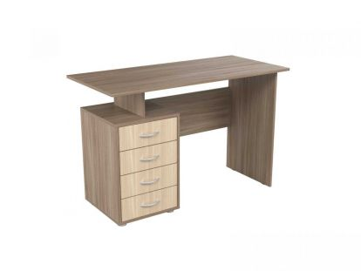 Стол письменный с 4-мя ящиками