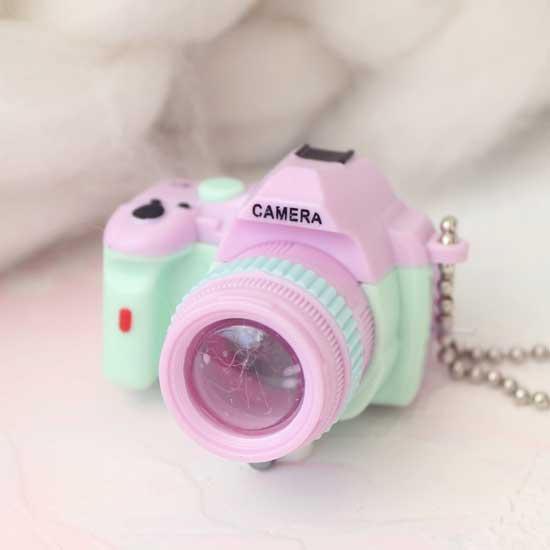 Фотоаппарат CAMERA сиреневая