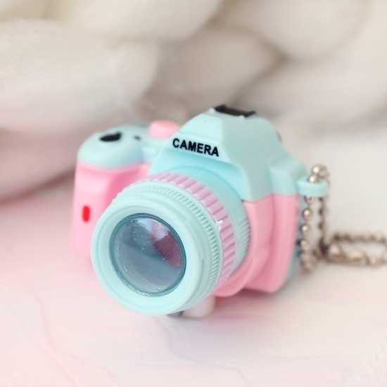 Фотоаппарат CAMERA голубая