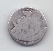 5 копеек 1758 года Облачник
