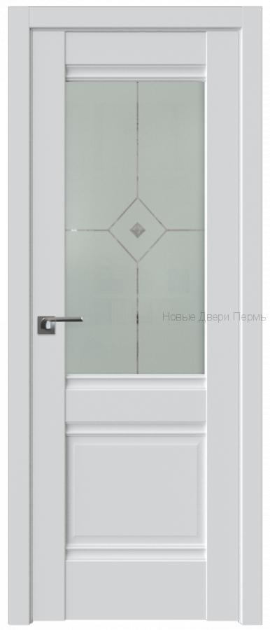 2U АЛЯСКА со стеклом - PROFIL DOORS межкомнатные двери