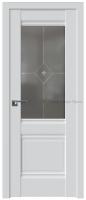 дверь 2у стекло графит