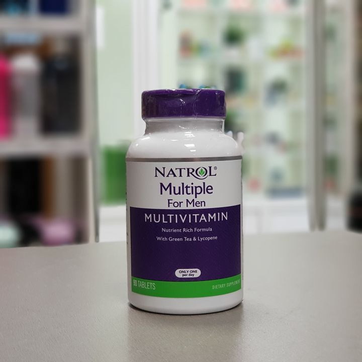 Natrol - Multiple for Men Multivitamin (90 таб)