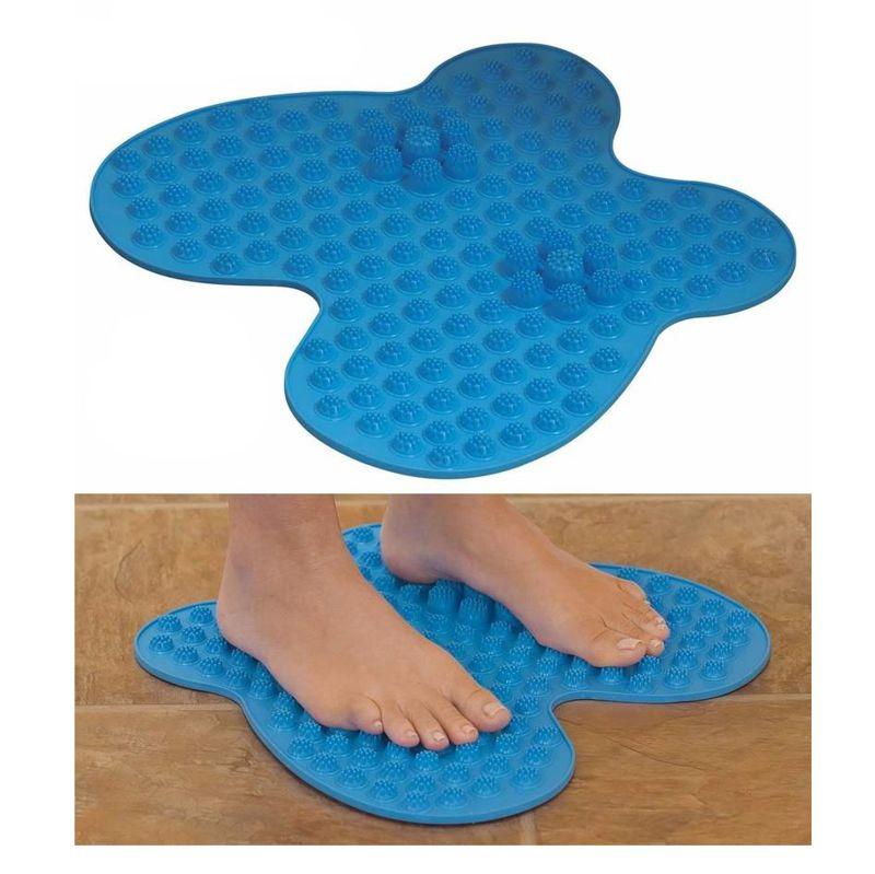 Массажный коврик для ног FUTZUKI, Цвет Голубой