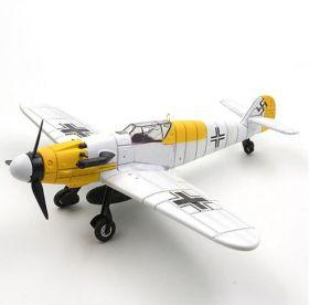 Цветная сборная модель Мессершмитт Bf 109 1:48 Зимняя раскраска