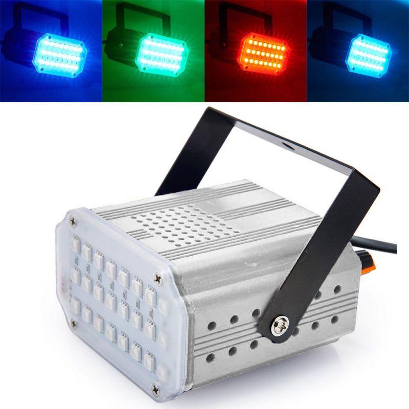 Комнатный Мини-Стробоскоп Mini Room Strobe 24 LED, Цвет Белый