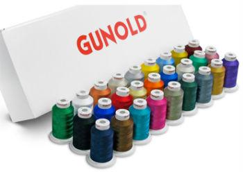 Набор вышивальных ниток GUNOLD полиэстр №60 (1000м.) - 27 шт.