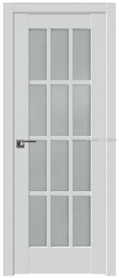 102U Аляска стекло Матовое- PROFIL DOORS межкомнатные двери