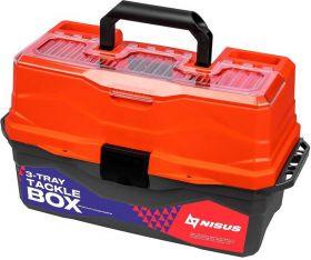 Ящик рыболова Nisus Tackle Box трехполочный N-TB-3-R