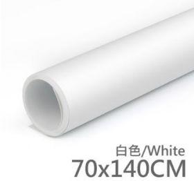 Фон пластиковый ПВХ 70х140 белый матовый