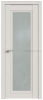 2.101U ДАРК ВАЙТ со стеклом - PROFIL DOORS межкомнатные двери