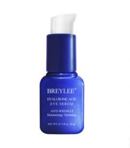Увлажняющая и разглаживающая сыворотка для кожи вокруг глаз с гиалуроновой кислотой Breylee Hialuronic Acid Eye Serum.(0816)