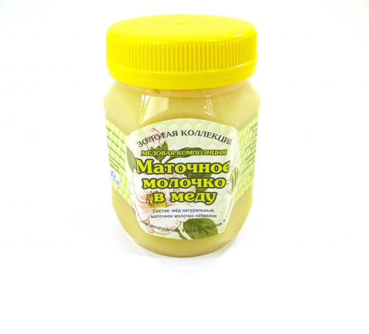 Маточное молочко в меду, 350гр
