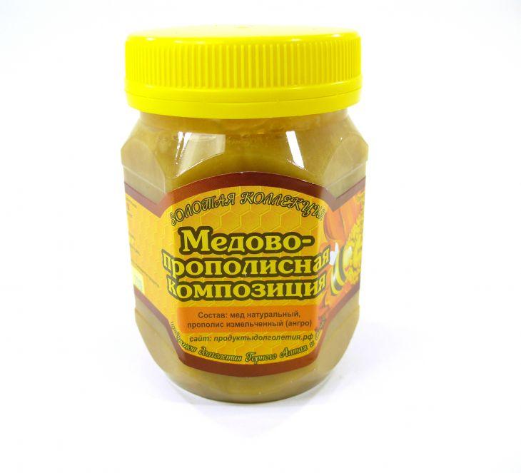Прополисно-медовая смесь, 350гр