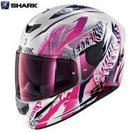 Шлем Shark D-Skwal 2 Shigan, Розовый с белым