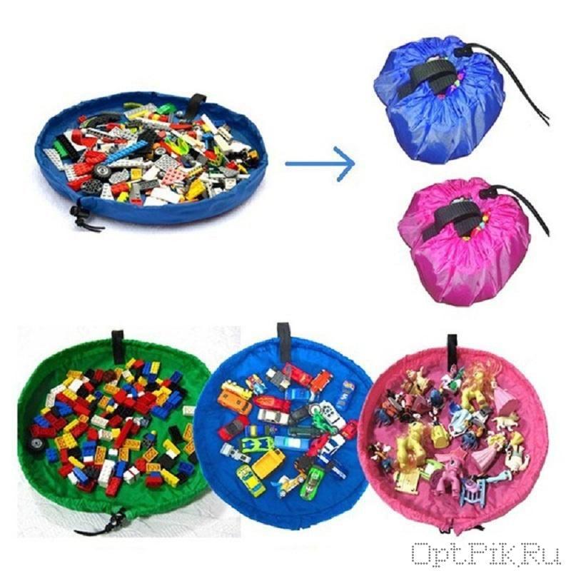 Коврик-мешок для игрушек 0,4 м