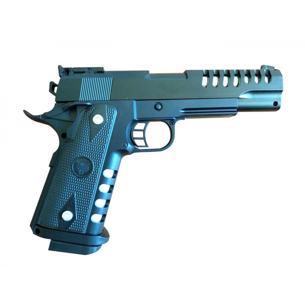 Пистолет Airsoft M688 пневматический, игрушечный