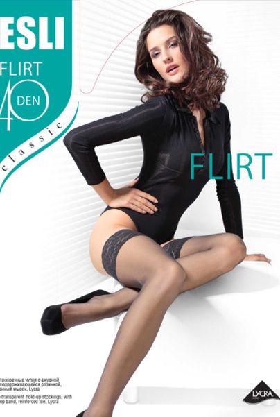 чулки ESLI Flirt 40