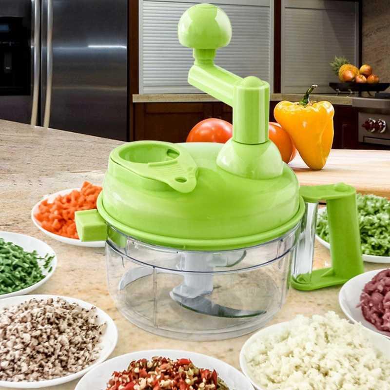 Универсальная механическая овощерезка Multi- functional Food Cooking Machine