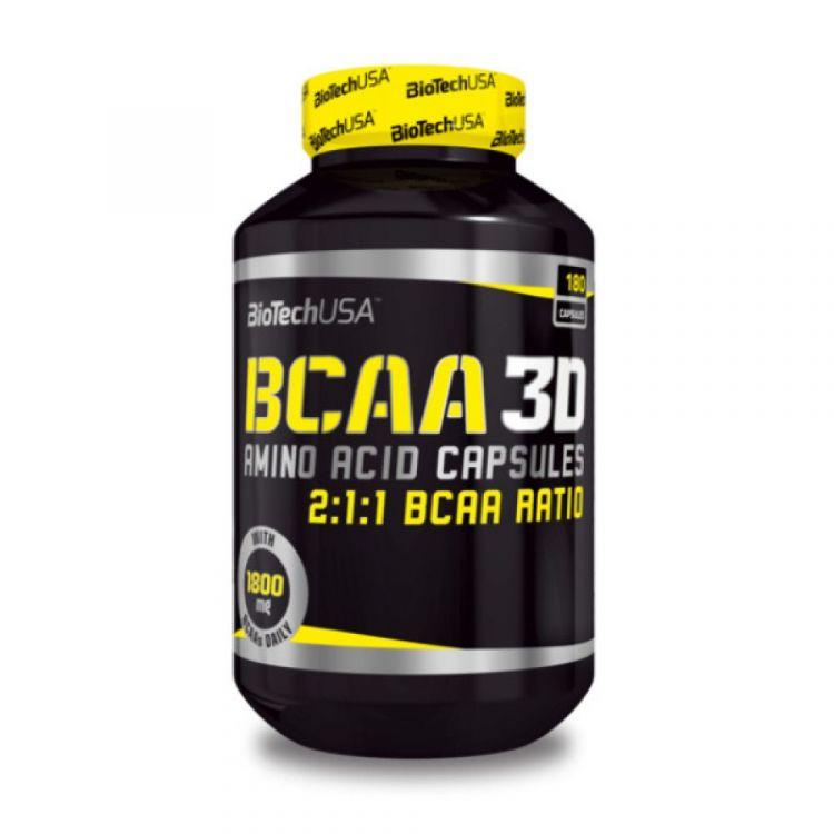 BCAA Nano 3D от BioTech USA 180 капсул