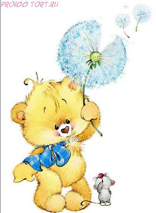 Вафельная картинка на торт Детский праздник №8 (формат А4)