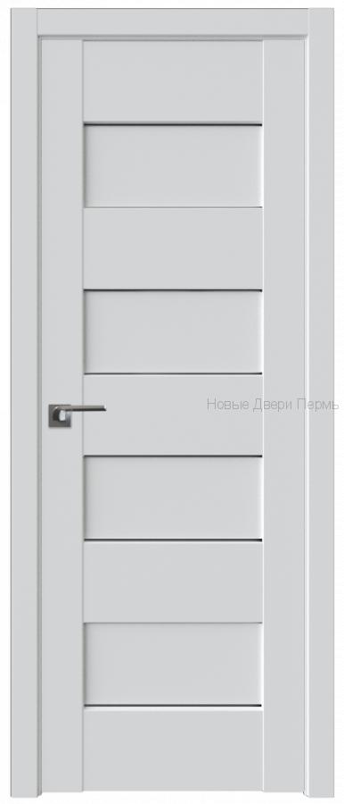 45U АЛЯСКА стекло Графит - PROFIL DOORS межкомнатные двери