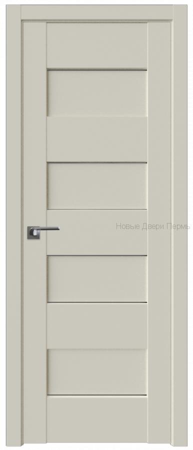 45U МАГНОЛИЯ САТИНАТ стекло Графит - PROFIL DOORS межкомнатные двери