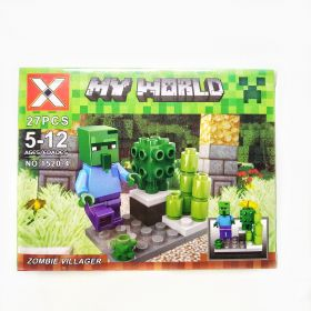 Лего - MineCraft - My World (X/1520-4)