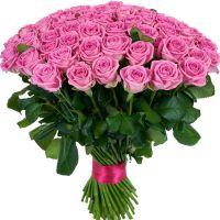Букет из роз от 11 шт (розовые)