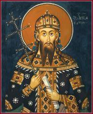 Икона Стефан Урош V(Сербский) святой