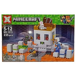 Конструктор Арена Череп 235 деталей Minecraft