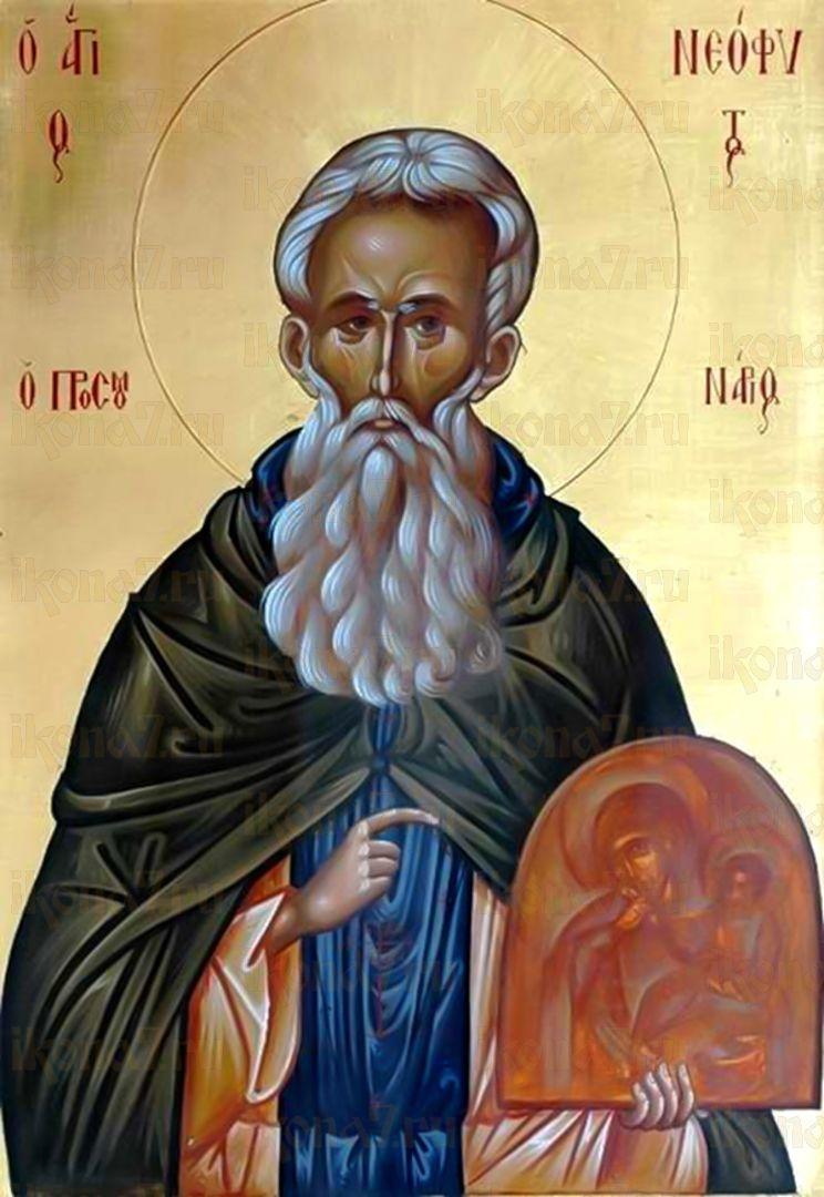 Икона Неофит Ватопедский (Афонский) преподобный