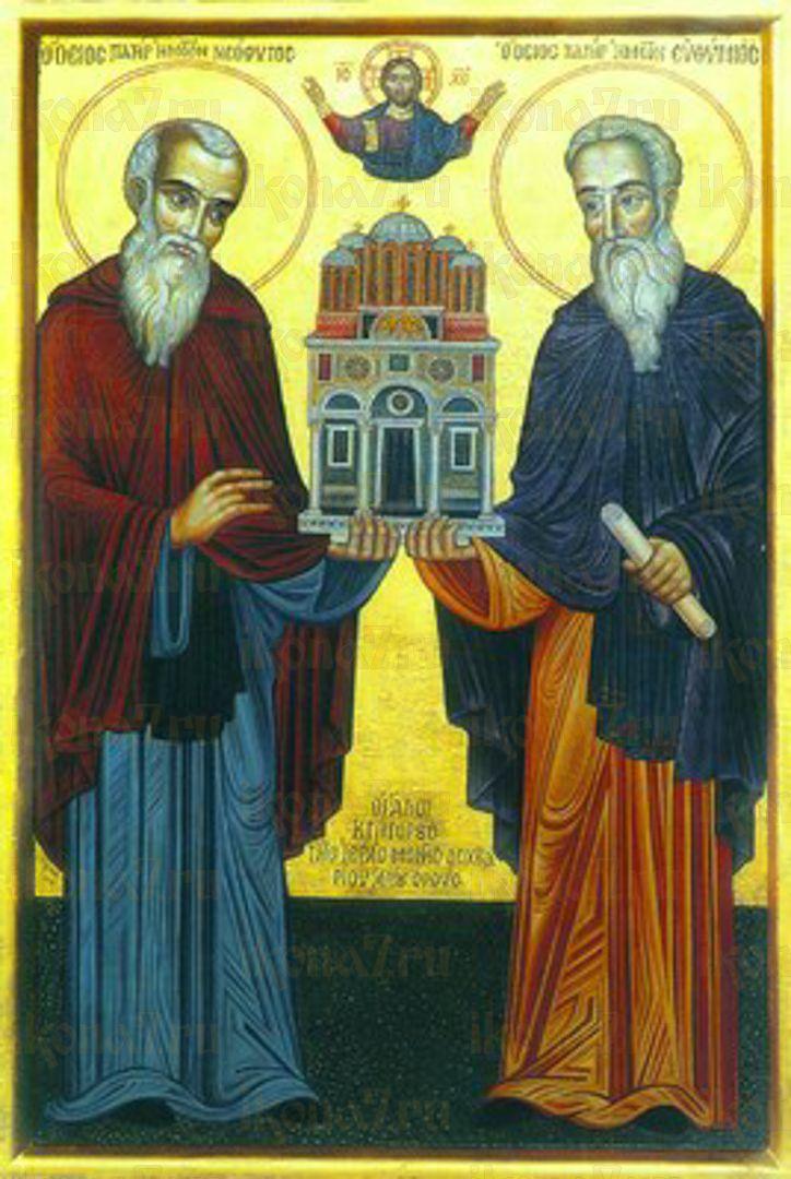 Икона Неофит Дохиарский преподобный