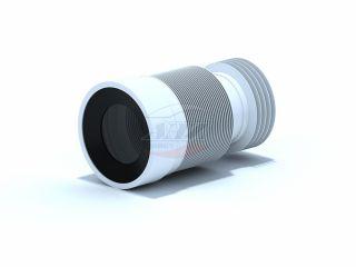 Удлинитель гибкий для унитаза выпуск 110мм (225-520мм)