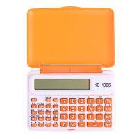 Инженерный 10-Разрядный Калькулятор Kenko KK-1006C, Цвет Оранжевый_1