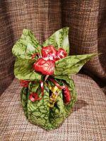 Новогодний мешочек с подарками - подарочный набор с чаем и конфетами